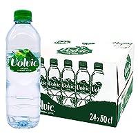 富维克(Volvic)天然矿泉水 500ml*24瓶/箱法国原装进口整箱价 18年5月生产