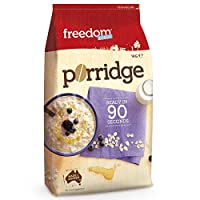 Freedomfoods澳菲顿 澳洲营养纯燕麦片 免煮即食无蔗糖早餐冲饮纯麦片1kg(澳大利亚进口)