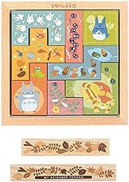 龙猫 树的瓷砖拼图