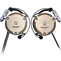 Audio-Technica 铁三角 ATH-EM7X 复刻版耳挂式耳机 运动挂耳式 香槟金