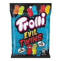 Trolli 邪恶双胞胎酸软糖,4.25盎司(120克),12支装