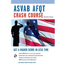ASVAB AFQT Crash Course (Military (ASVAB) Test Preparation) (English Edition)