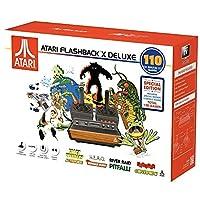 Atari Flashback X 豪华复古控制台 120 内置游戏 - 2 个有线控制器 - 高清 HDMI - 即插即用
