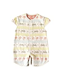 Hoppetta 儿童两用睡袋 蓬松纱布(6层纱布),带袖子
