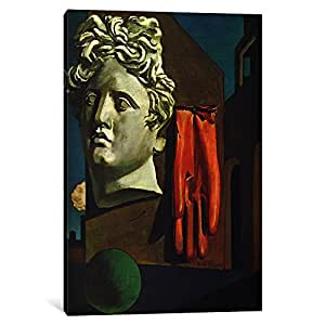 iCanvasART 11250-1PC3-18x12 The Song of Love Canvas Print by Giorgio de Chirico, 0.75 x 12 x 18-Inch