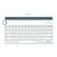Logitech 罗技 多功能智能设备 蓝牙键盘K480-白 支持Ipad