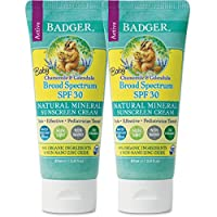 Badger Balm 婴儿尿布霜和舒缓婴儿油 2.9 oz. - 2 Pack 1.00