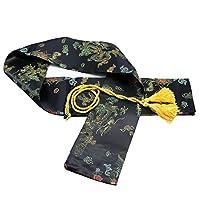 CNLQ 丝绸剑袋适合日本武士刀、剑和中国太极剑