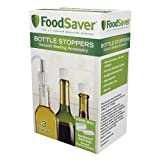 FoodSaver 3 件装瓶塞 白色 单瓶装 T03-0024-02P