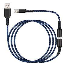 NITHO Breakaway 超长充电和播放线,带磁性断路适用于 PS4