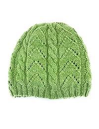 手工针织正品羊驼毛线图案冬季帽子保暖羊毛内衬
