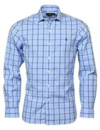 Polo Ralph Lauren 保罗拉夫劳伦男式修身易护理弹性长袖牛津衬衫