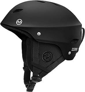 OutdoorMaster 滑雪头盔 - 带认证*,9 种选择 - 适合男士、女士和青少年