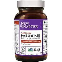 New Chapter新章 骨強度鈣片 含Vitamin D3 + Vitamin K2 + Magnesium -180 粒