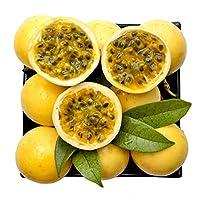 黄金百香果 5斤装(约43-50个)黄色百香果 黄皮西番莲 鸡蛋果 新鲜水果