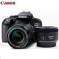 Canon 佳能 EOS 800D单反套机附送 Aisying单反相机包+钢化膜 (800D(18-55+50F1.8))
