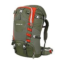 BIGPACK派格50L户外登山包 徒步野营 双肩包 男女通用 骑行背包 (绿色)