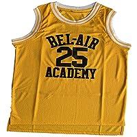 Ruhao #14 The Fresh Prince #25 Carlton Banks Bel Air Academy 篮球运动衫