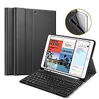 "Fintie iPad Air 2019 3rd Gen/iPad Pro 10.5"" 2017 Keyboard Case w/Pencil 支架"