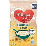 Milupa Grießbrei Miluvit mit 6 Monat, 5er Pack (5 x 400 g)