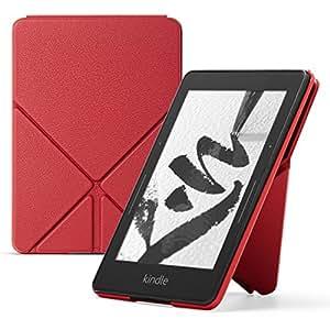 亚马逊折叠式真皮保护套 (Kindle Voyage 电子书阅读器),红色