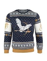 Harry Potter 圣诞跳伞丑毛衣 Hedwig 男款 男款 男孩女孩 L 标准