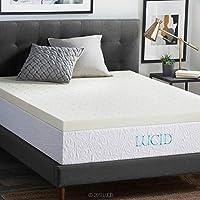 lucid 7.6cm 透气*泡沫床垫罩3年保修