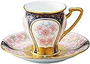 Noritake 罩杯_蘇打 多 180ml 棋子 收藏 咖啡碗碟 (彩金彩櫻文) T52520/H-881