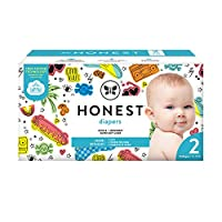 The Honest Company The Honest Company Club Box 紙尿褲采用 Trueabsorb 技術,僅有好振動,尺寸 2,76 片