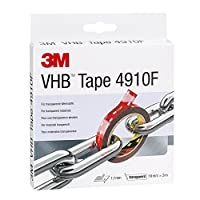 3M VHB 胶带,透明,薄膜胶带 (1个装)