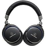 Audio-Technica 铁三角 ATH-MSR7 BK Hi-Res高解析音质 便携头戴式耳机 黑色(日本品牌 香港直邮)