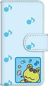 智能手机壳 手册式 对应全部机型 印刷手册 cw-181top 套 手册 青蛙 蛙 UV印刷 壳WN-PR200961-MX Huawei LUMIERE 503HW 图案 A