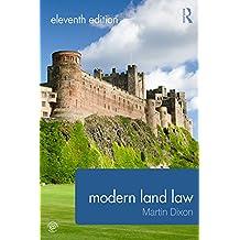 Modern Land Law (English Edition)