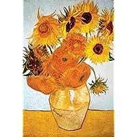 文森特·梵高 1888 年向日葵 - 艺术海报 60.96 厘米 x 91.44 厘米