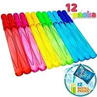 Joyin Toy 12 只装 35.56cm 大气泡棒组合(1 打) - 超值夏季玩具派对礼品套装