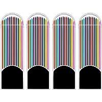 Jovitec 48 件彩色铅笔芯,2.0 毫米,90 毫米高,预磨,12 种颜色
