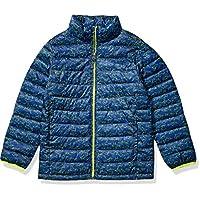 Amazon Essentials 男童轻质防水可压缩羽绒服