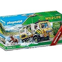 PLAYMOBIL Wild Life 70278 探险车,4 岁以上儿童