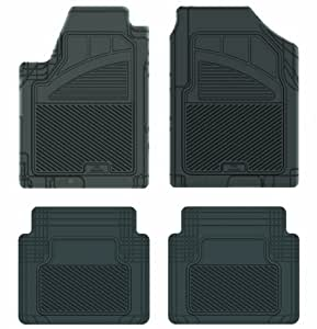 Koolatron Pants Saver 定制款 4 件套全天候汽车垫适用于部分日产 Maxima 车型 黑色 17604