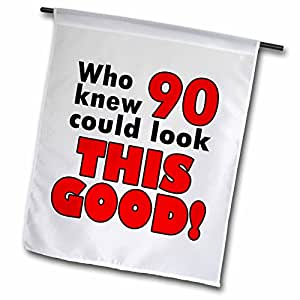evadane–趣语–谁知道90could LOOK THIS Good . 红色。–旗帜 12 到 18 英寸