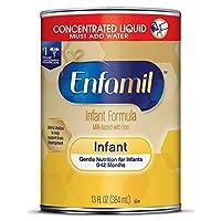Enfamil 美赞臣铂睿 温和婴儿配方奶粉,21.1盎司/约598克(4 件装)