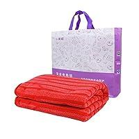 彩虹电热毯双人 电褥子 超大单人电热毯(长1.5米宽1.2米)TB102