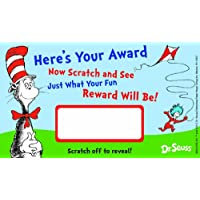 Eureka Dr. Seuss Assorted Scratch Off Reward Cards, Package of 24 (844209)