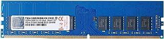 V-Color 16GB (1 x 16GB) 双列服务器内存 RAM 模块* DDR4 2400MHz (PC4-19200) ECC DIMM 1.2V CL17 2Rx8 (TE416G24D817-SB)TE416G26D819-VKC...