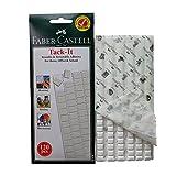 FABER-CASTELL 可重复使用 & 可移除胶浅灰褐海报 & multipurpose 白色没有风度 putty 墙壁保险柜粘性 Tack–120件