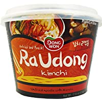 Dongwon Instant-Noodles Raudong mit Kimchigeschmackung (1 x 214 g)