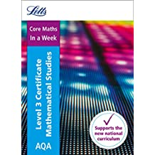 Letts A-level Revision Success – AQA Level 3 Certificate Mathematical Studies: In a Week (English Edition)