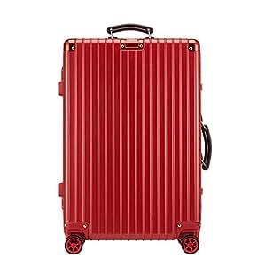 ELLE 中性 通用款海关锁扣式硬箱拉杆箱 ELDL1014-20-11C 红色 20寸(亚马逊自营商品, 由供应商配送)