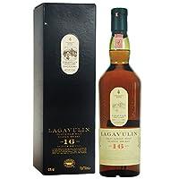 Lagavulin 乐加维林16年艾莱岛单一麦芽苏格兰威士忌700ml(英国进口)