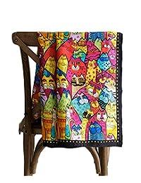 jeelow 100% 丝绸 scarfs 小号方形适用于女式丝巾适用于*包装领巾
